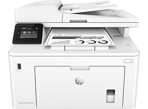 đánh giá máy in HP M227FDW