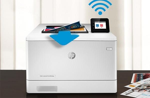 HP M454DW với hiệu suất in vượt trội
