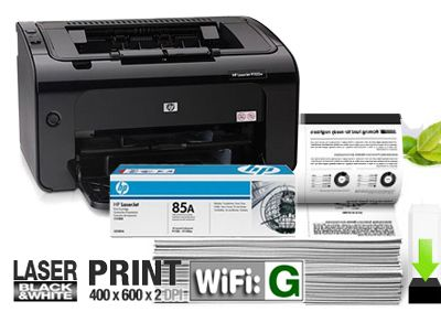 Đánh giá máy in laser HP P1102W