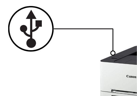 USB-printing
