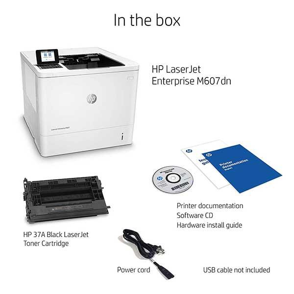 Đánh giá Máy in HP M607DN