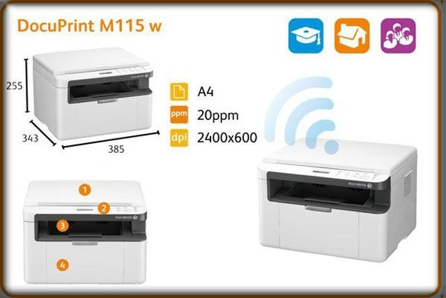 Máy in đa chức năng cùng ứng dụng in ấn dễ dàng
