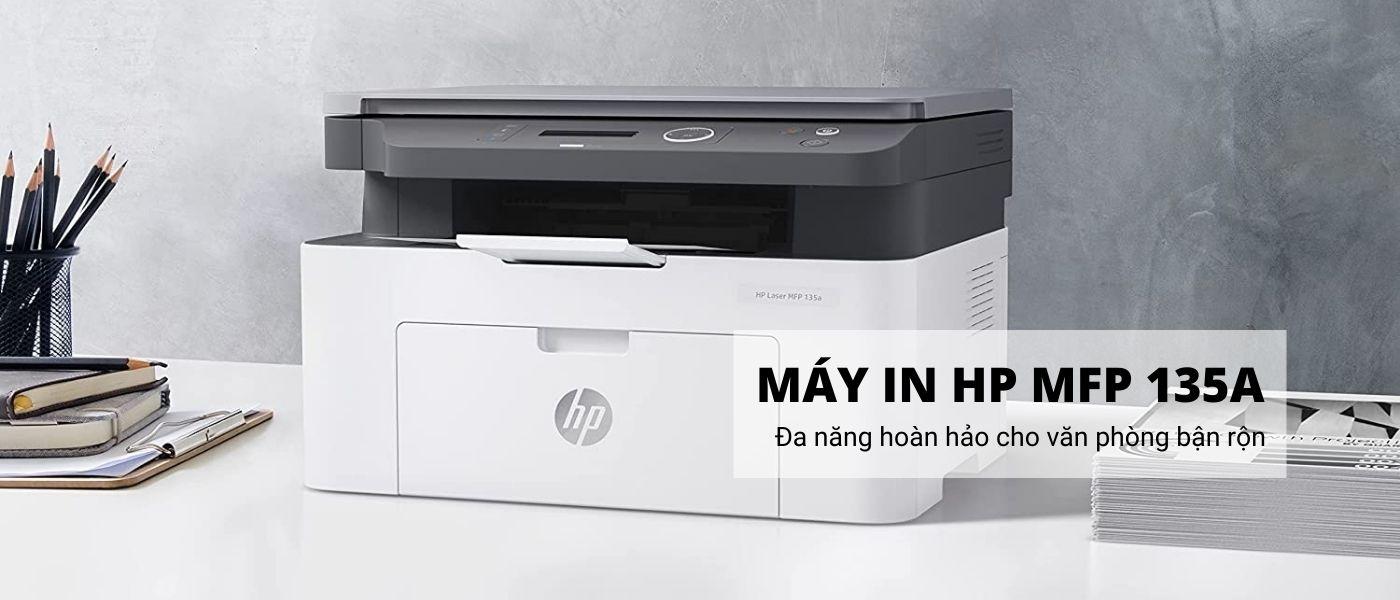 máy in HP LaserJet MFP 135a