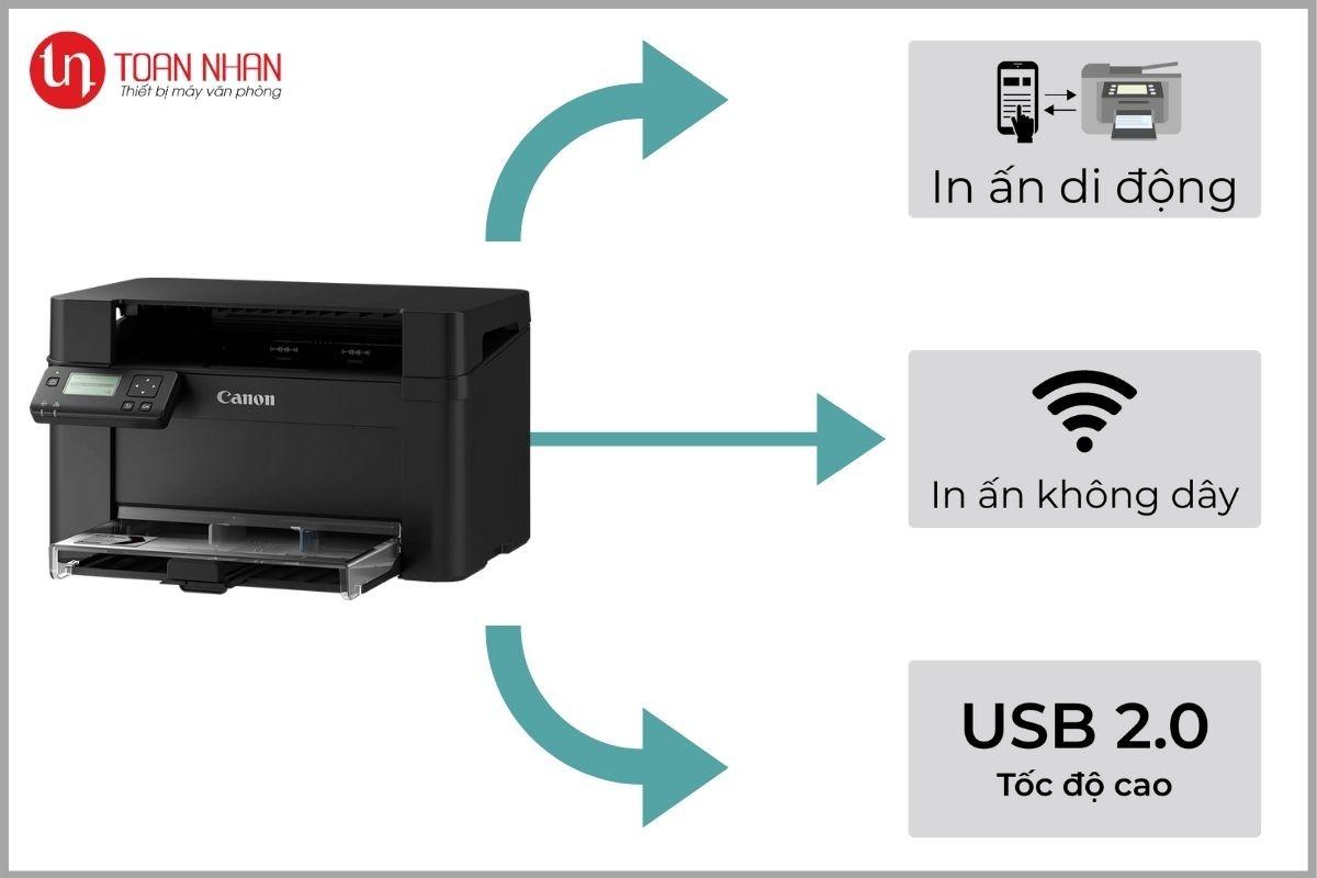kết nối máy in lbp113w