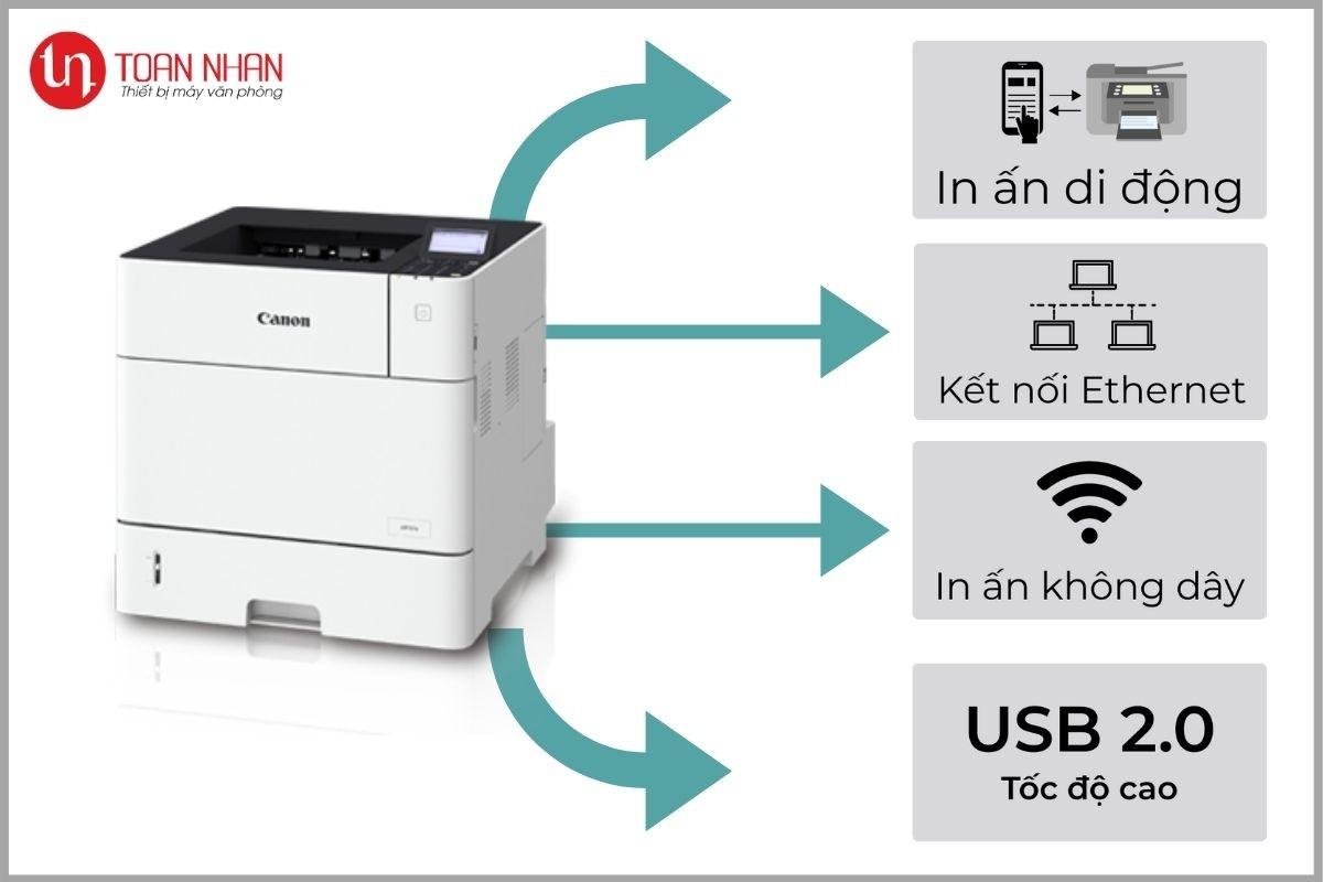 kết nối máy in lbp352x