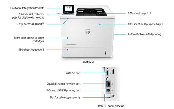 Ưu điểm máy in HP M607DN